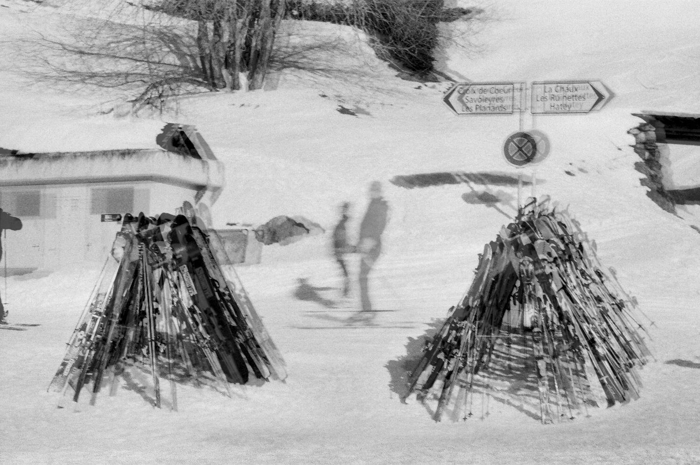 Skiers Crossing, Verbier 2015   Edition 1 of 2