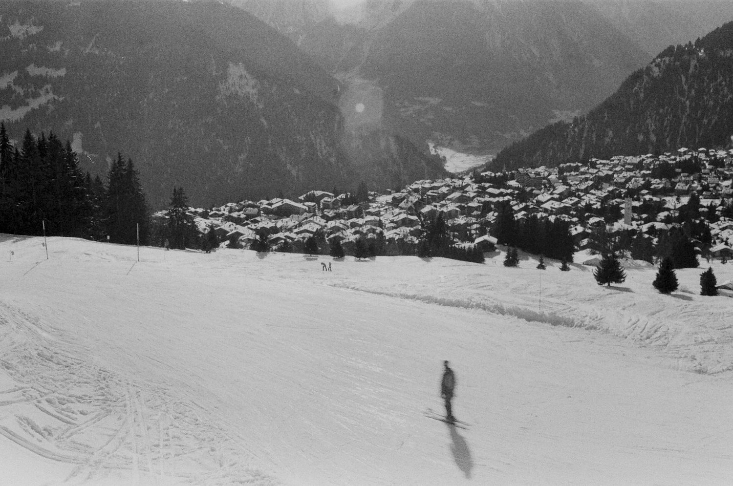 Lone Skier, Verbier 2015   Edition 1 of 2