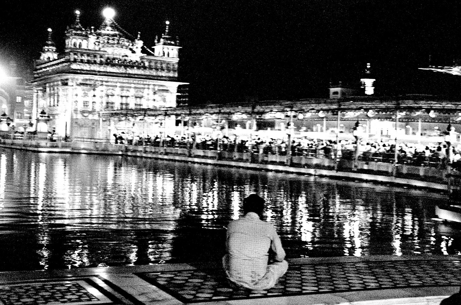 Awaiting Sunrise at the Golden Temple, Amritsar 2016   Edition 1 of 2