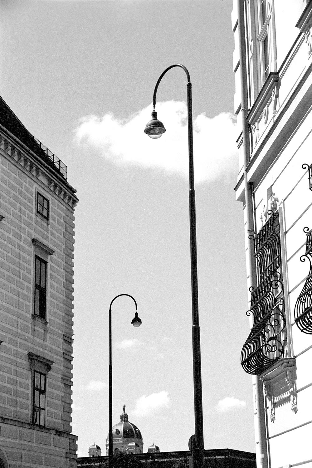 Pair of Lampposts, Vienna 2017   Edition 1 of 2