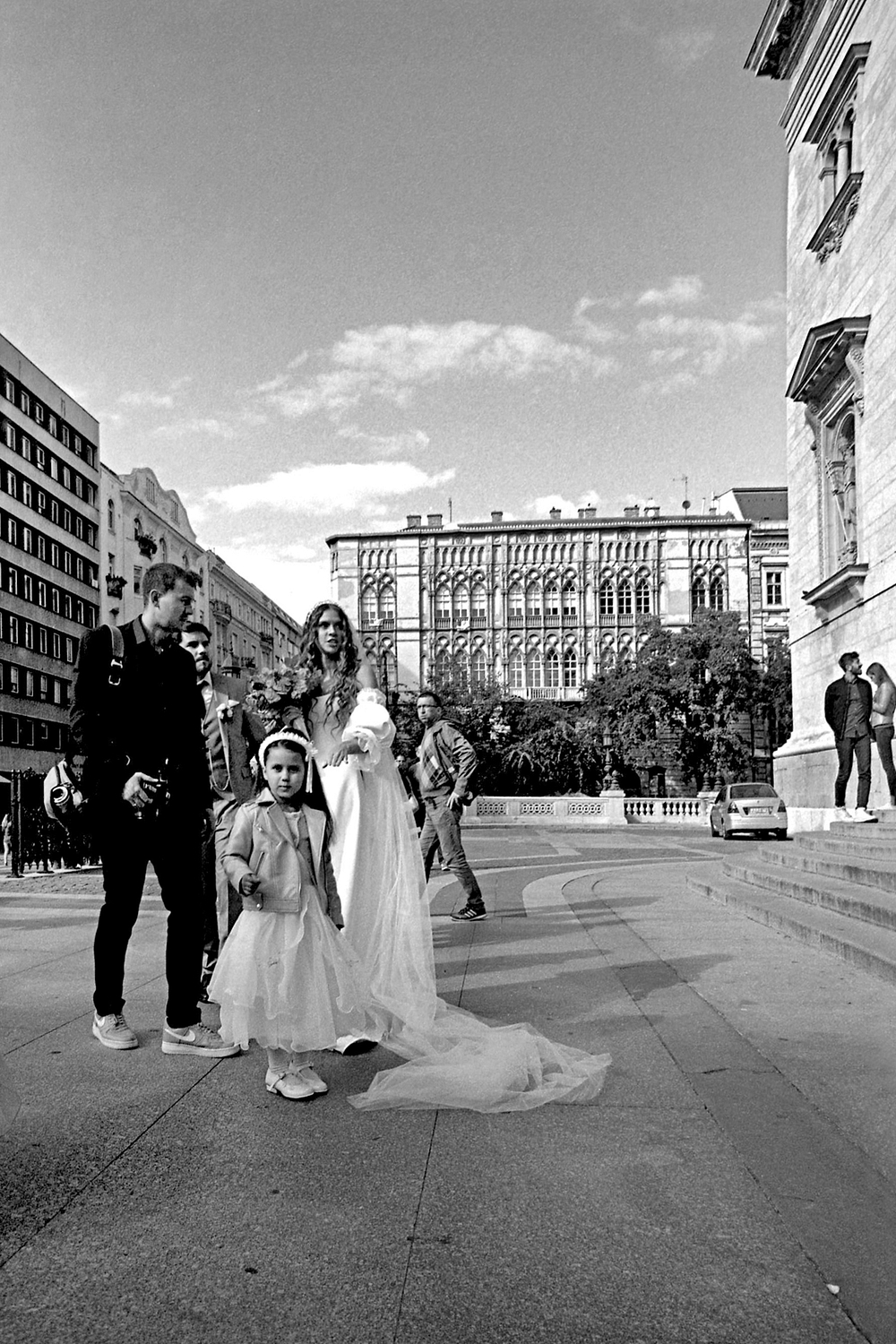 Flower Girl with the Bride, Budapest 2018   Edition 1 of 2