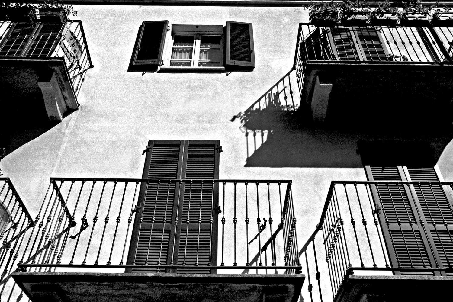 Balconies & A Window, Lake Como 2018   Edition 1 of 2