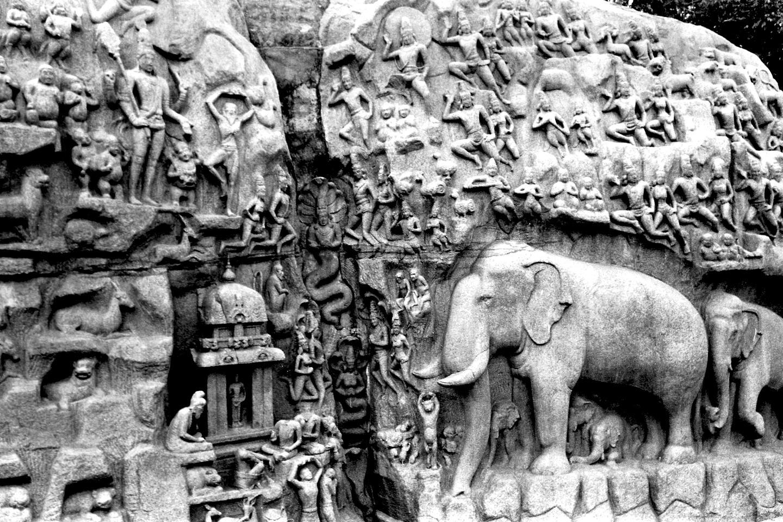 Arjuna's Penance-1, Mahabalipuram 2020   Edition 1 of 2