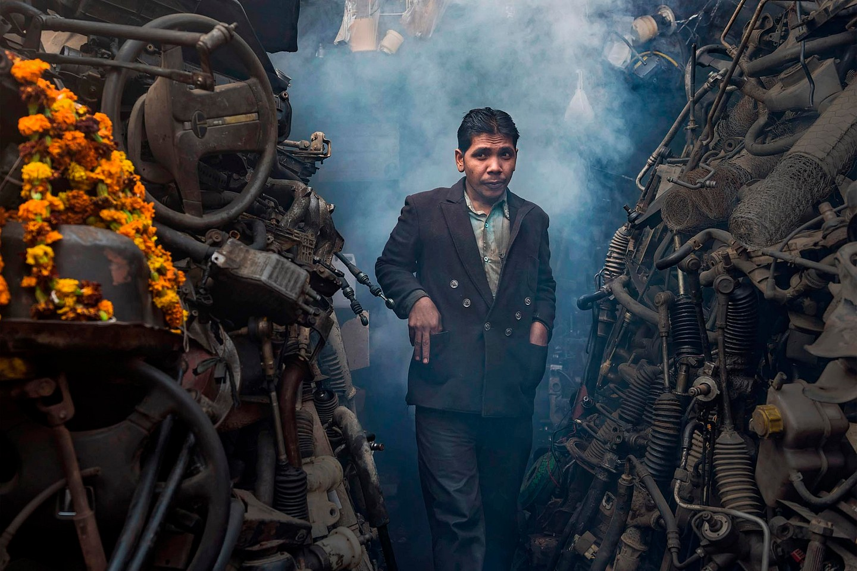 Mayapuri, India's largest vehicular scrap market