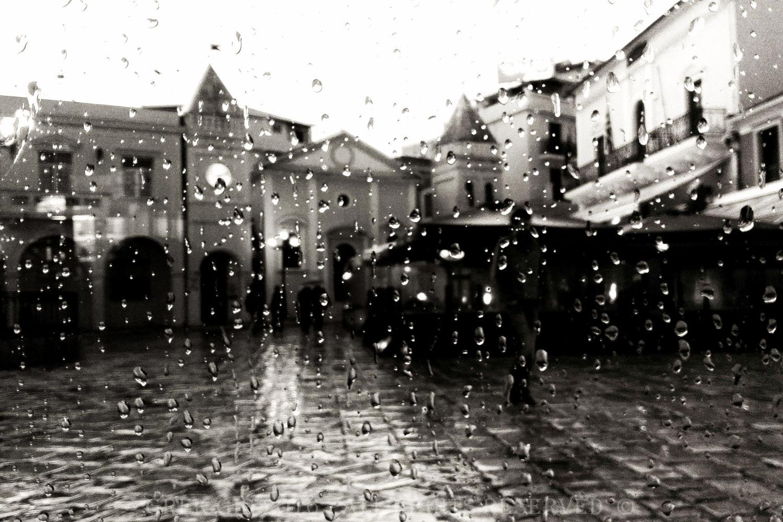 Raining Day in Zante - Zakynthos , Greece.