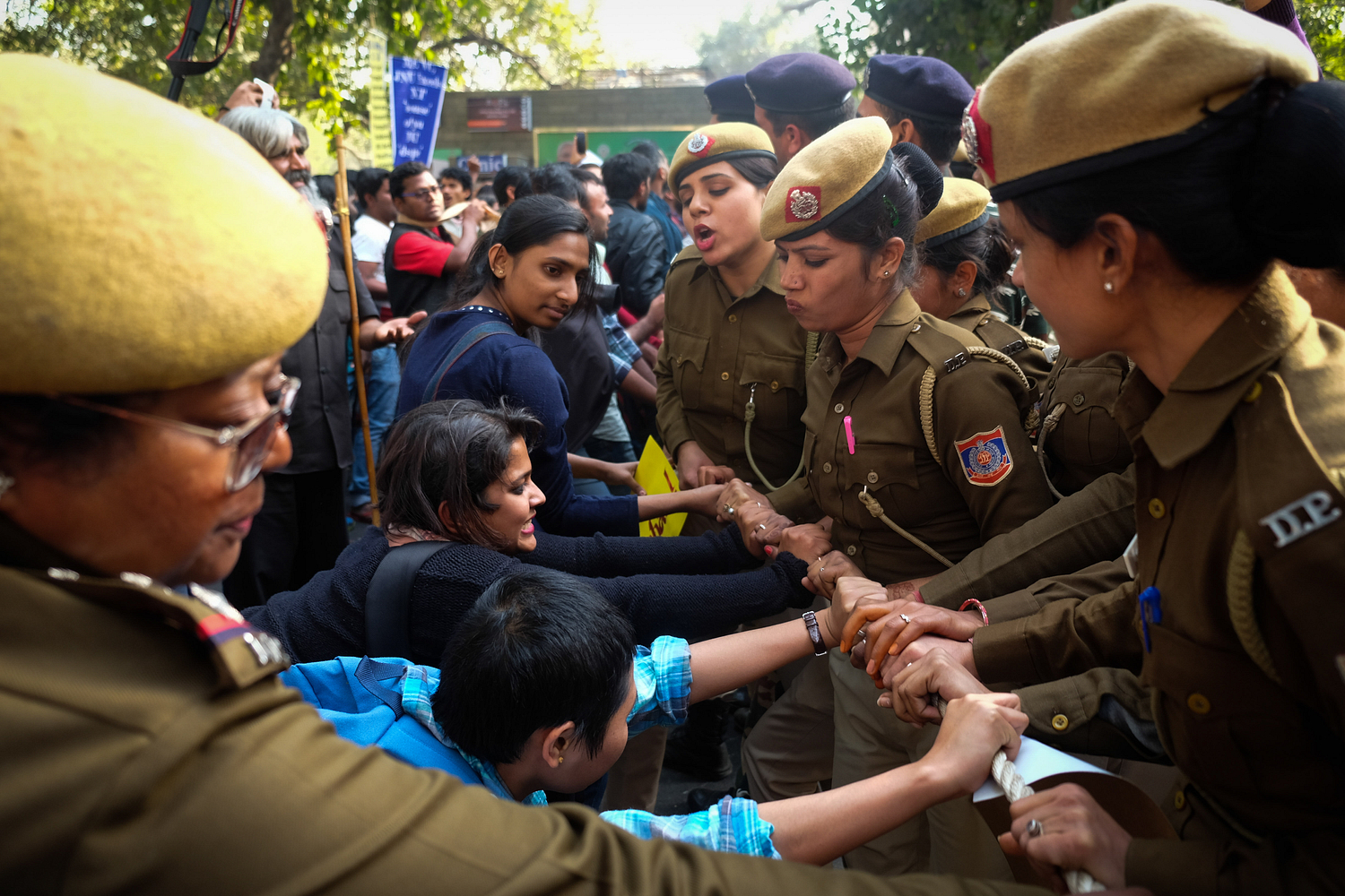 News Assignment: JNU students protest against university Vice Chancellor Jagadesh