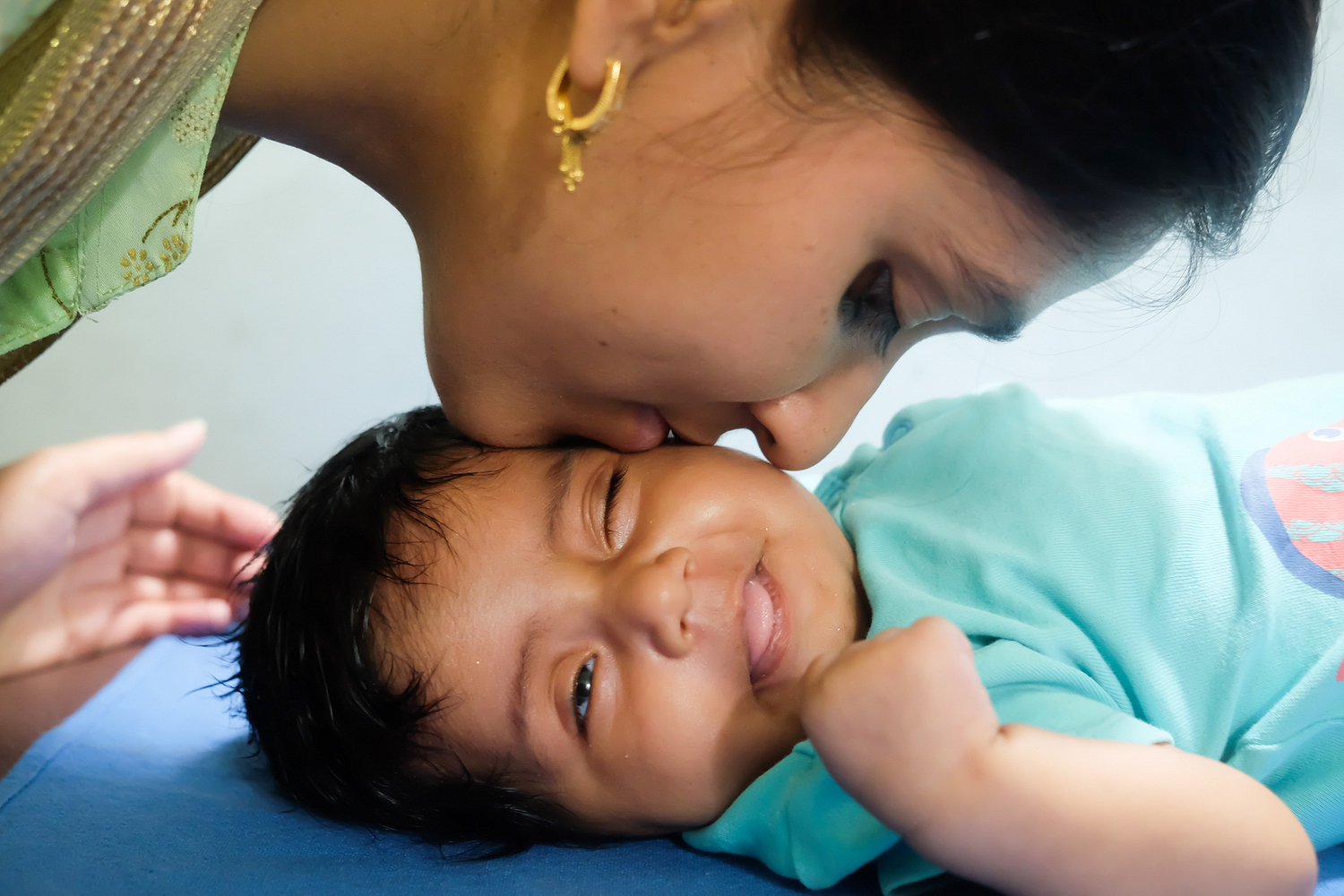 Assignment for Milaap Foundation: Viraaz, 2 months old, suffering from aortic stenosis and ballooning valvuloplasty.