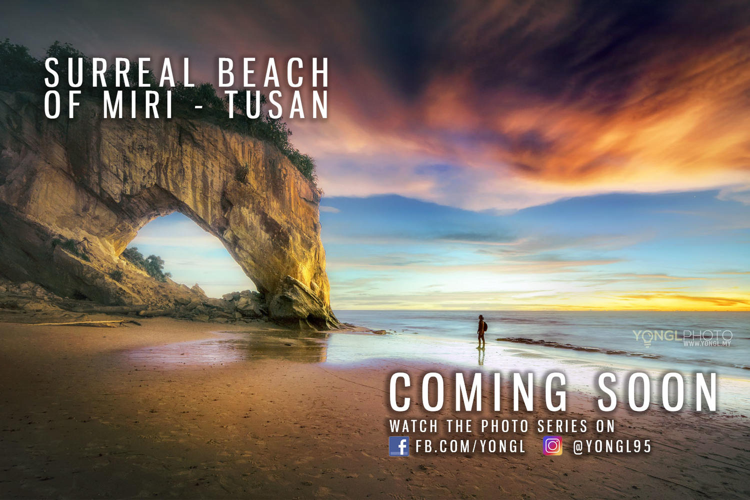 Surreal Beach of Miri - Tusan