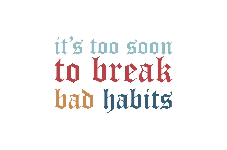 Ilustración / Bad habits