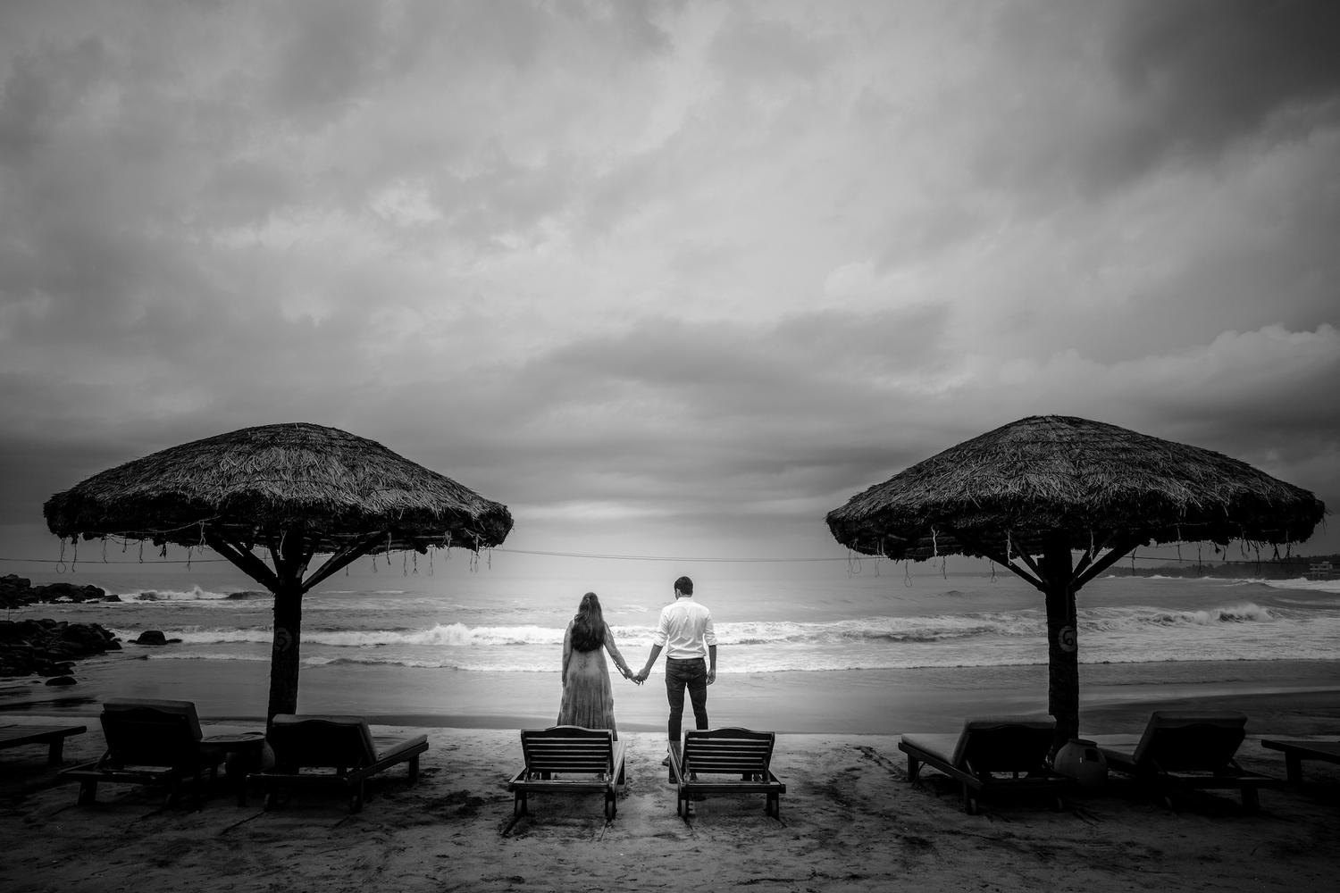 Prewedding Kerala Kovalam Backwaters gujarati beach destination wedding
