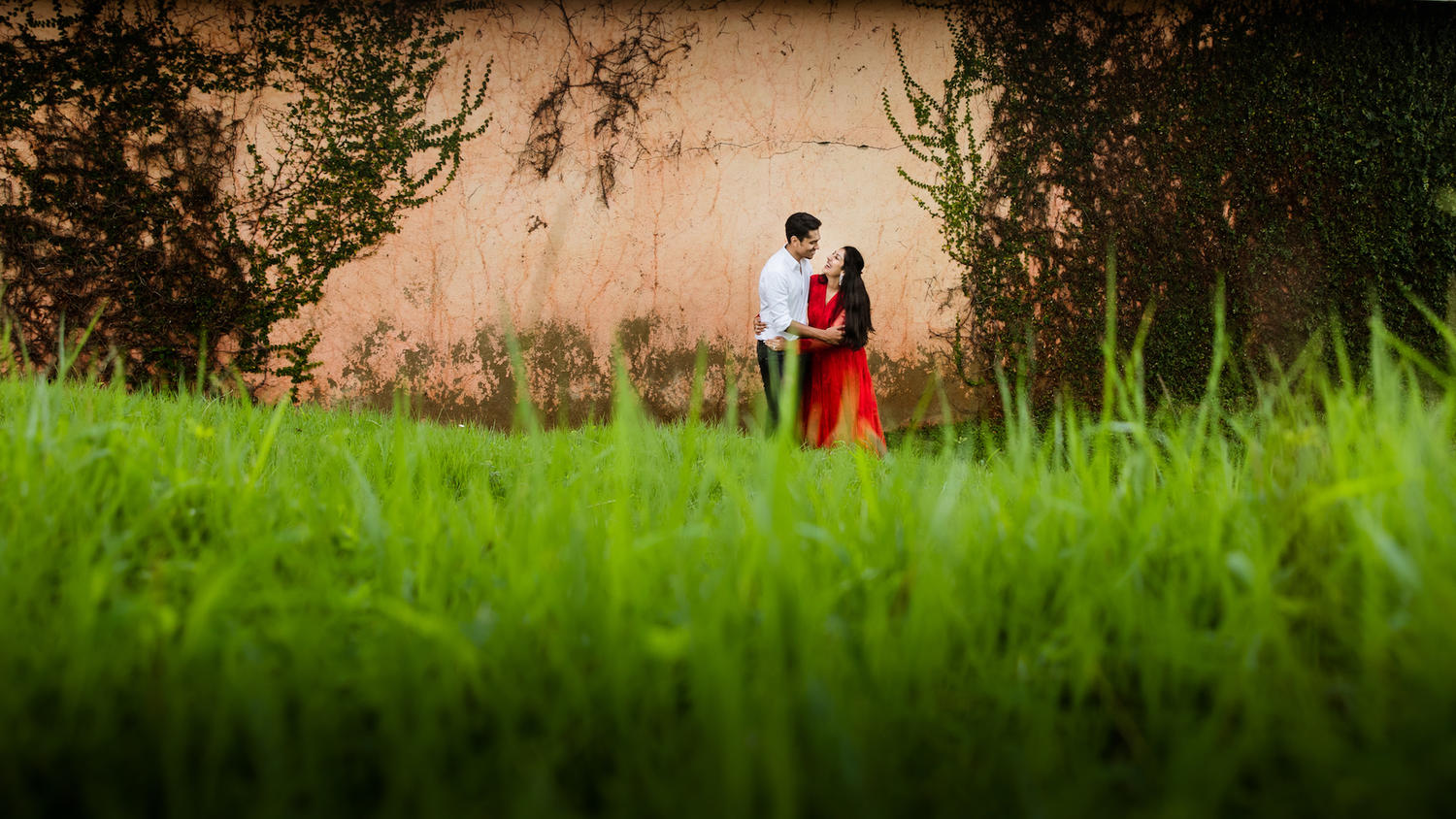 Prewedding Leela Kovalam Kerala Backwaters destination wedding