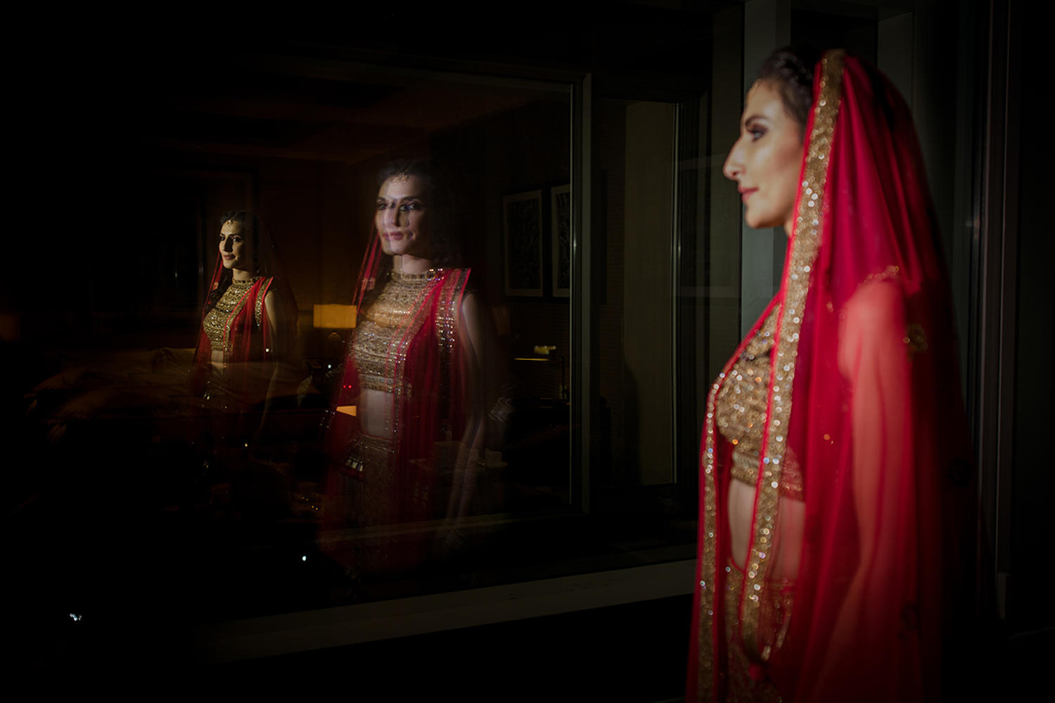Bridal portrait jordan muslim bride destination wedding