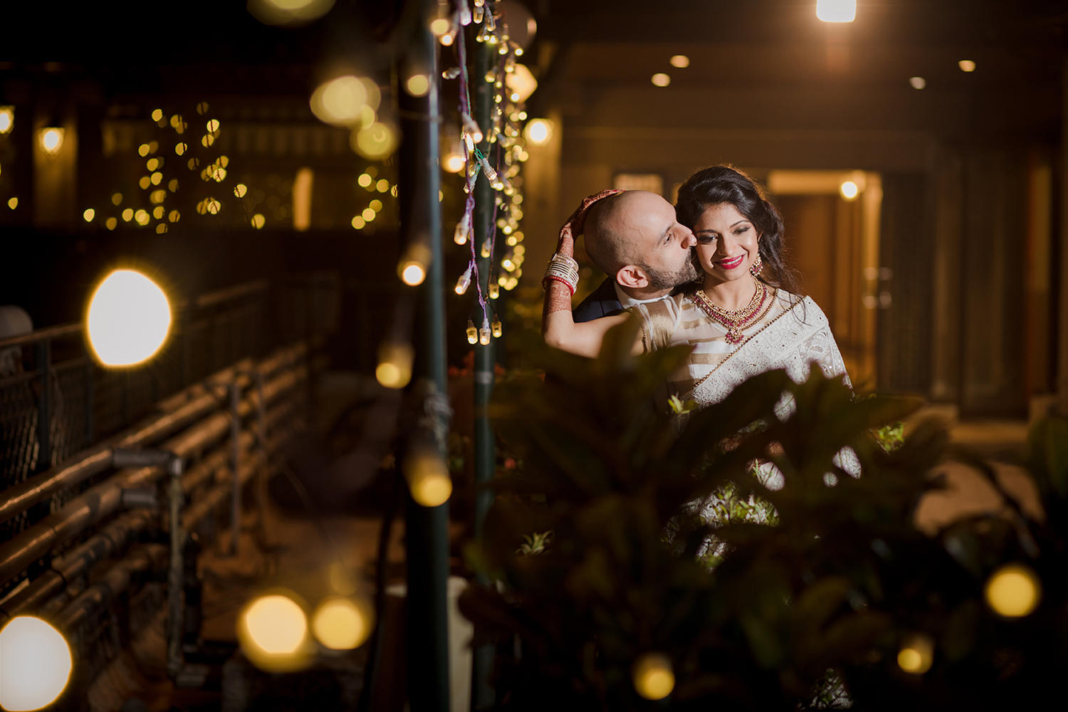 Canadian Jewish Gujarati destination wedding reception