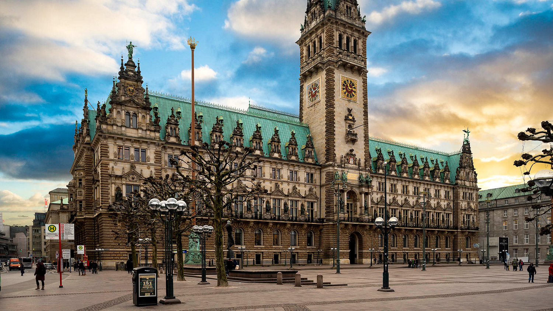 Rathaus, Hamberg, Germany