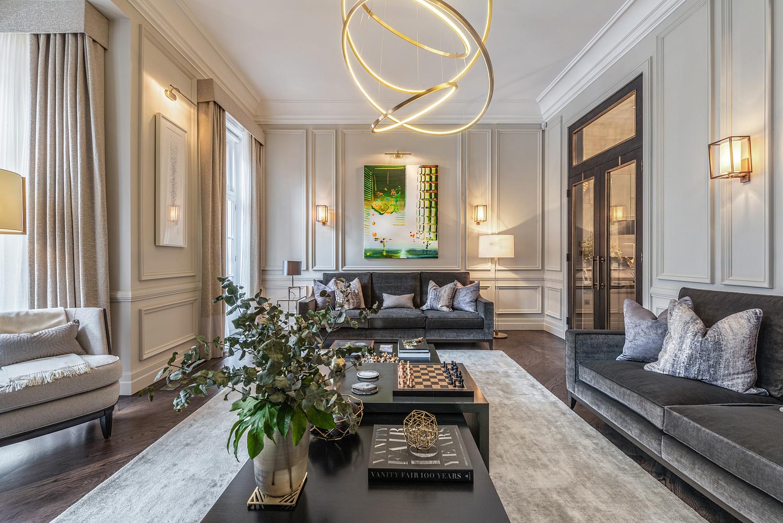 Sitting room, London apartment