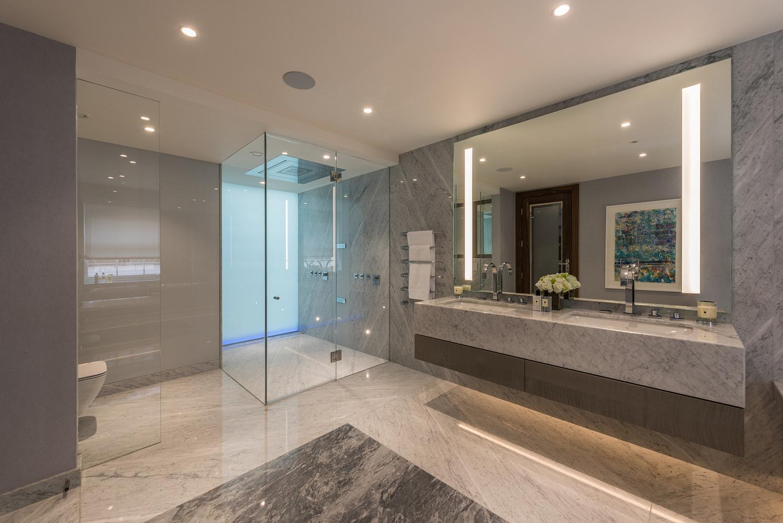 Bathroom detail, London house