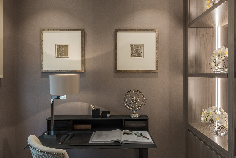 Study detail, London apartment