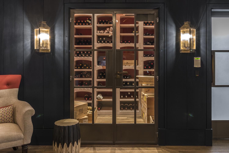 Wine cellar, golf clubhouse, Surrey
