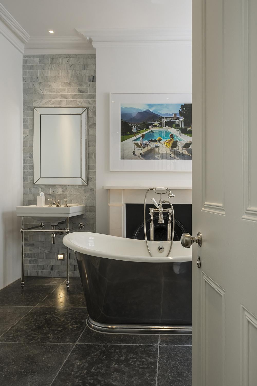 Bathroom detail, London apartment