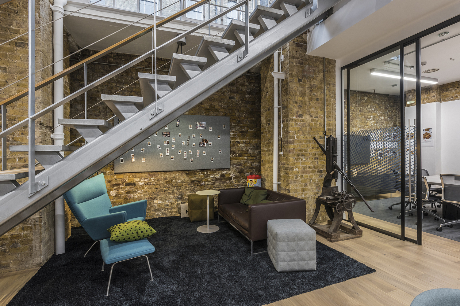 Breakout area, London Architect's office
