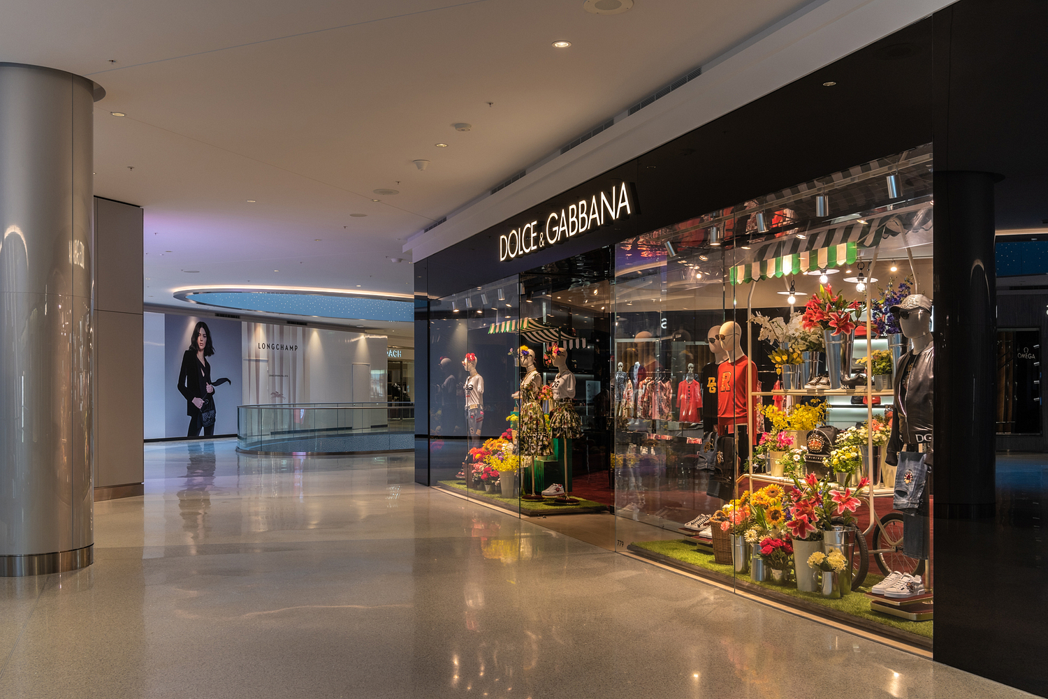 Dolce & Gabbana store front, Beverly Center, Los Angeles