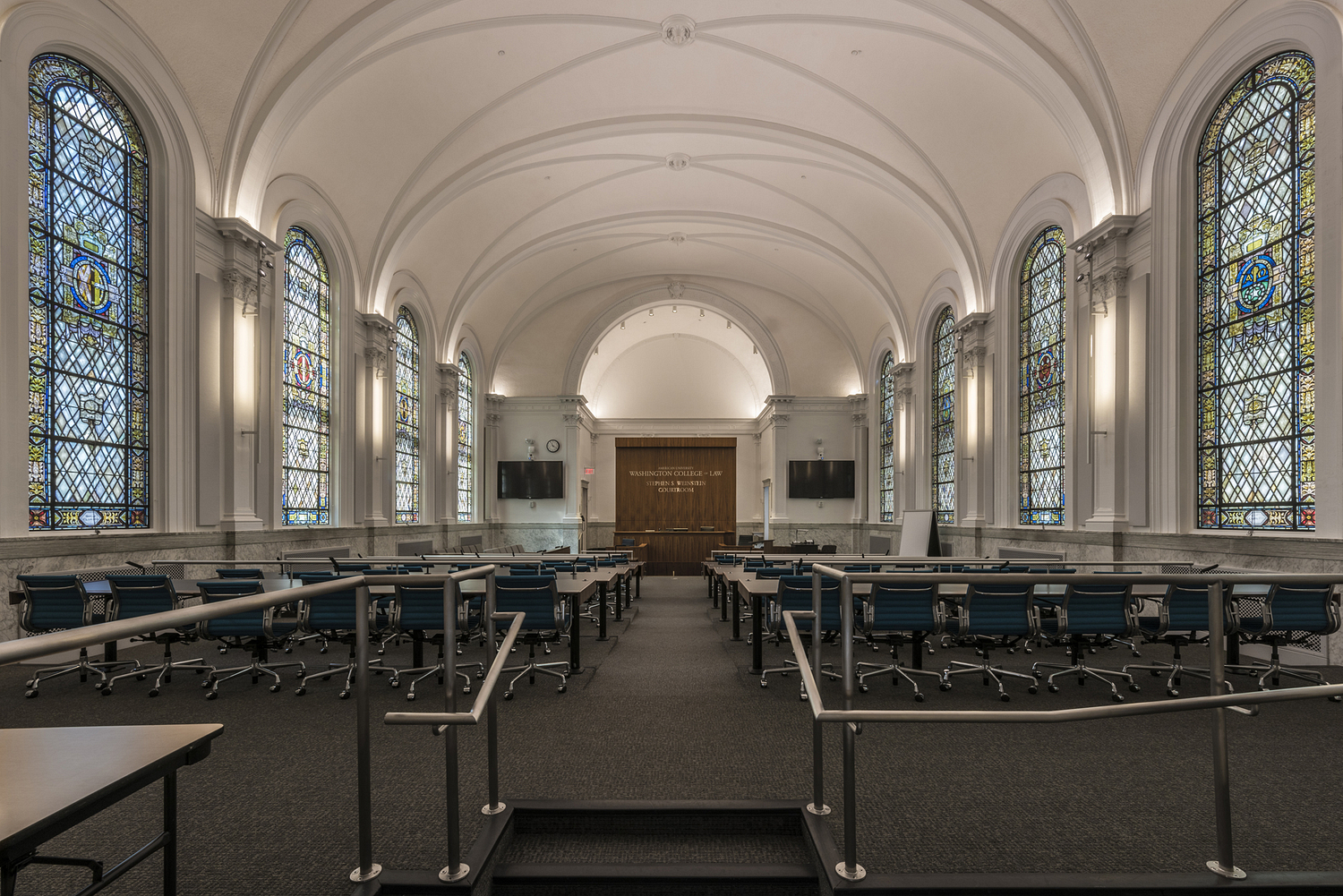 Courtroom, Washington College of Law, Washington DC
