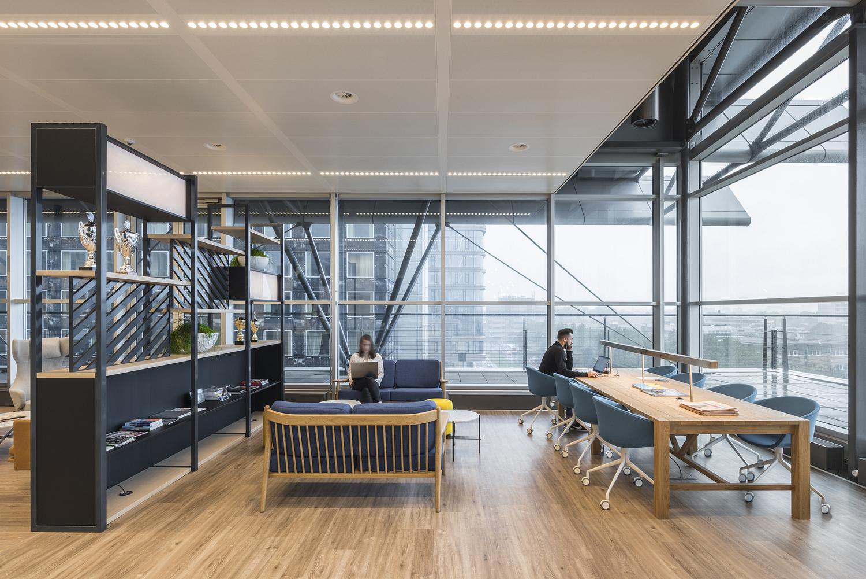 Office breakout area, Amsterdam