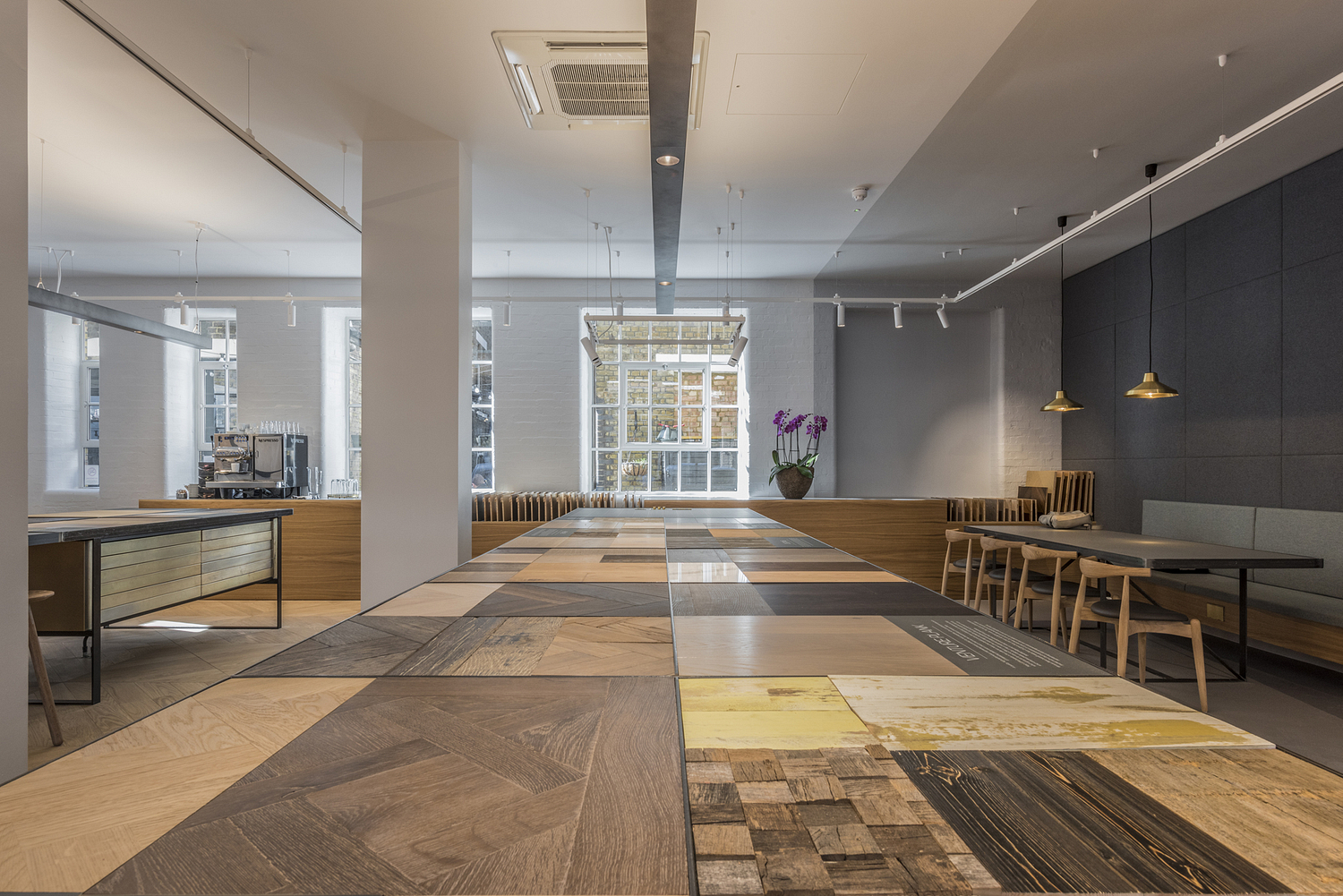 Flooring showroom, London