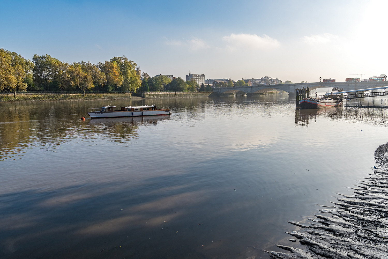 The Thames at Fulham, London