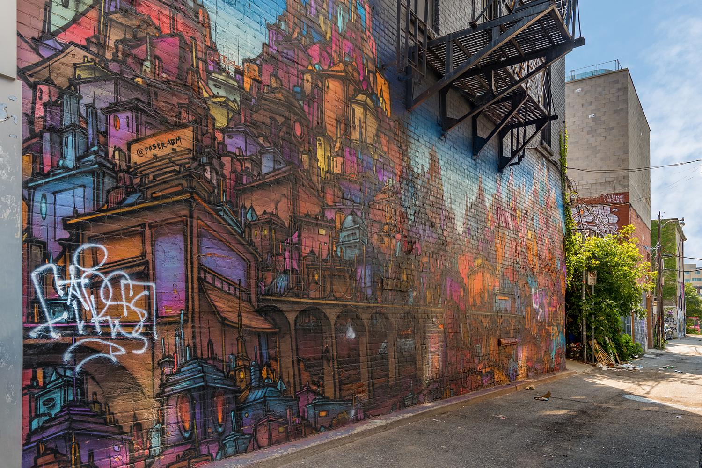 Graffiti, Toronto, Canada