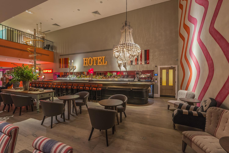 Bar area, Ham Yard Hotel, London