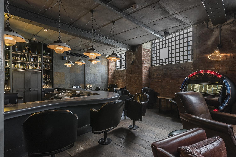 Basement bar, London