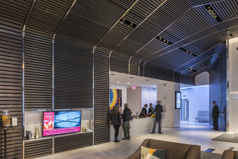 Reception, Hyatt Times Square, New York