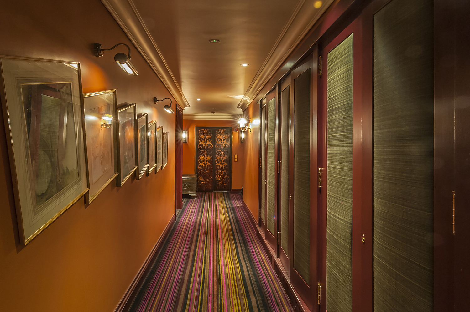 Corridor, Zetter Townhouse Hotel, London
