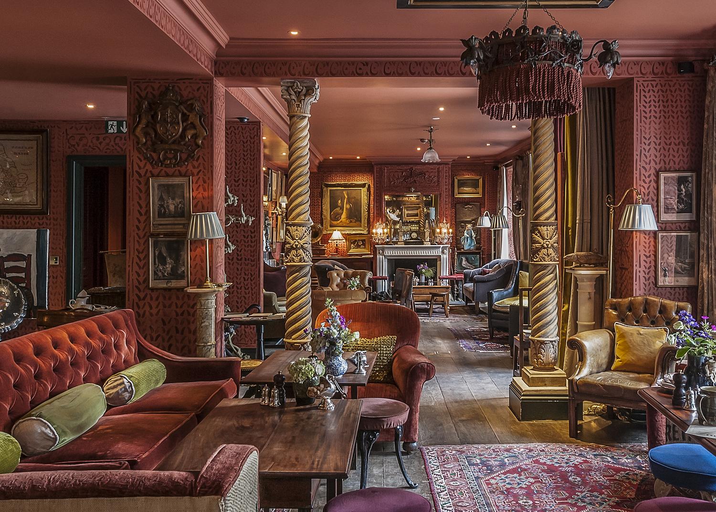 Entrance bar area, Zetter Townhouse Hotel, London