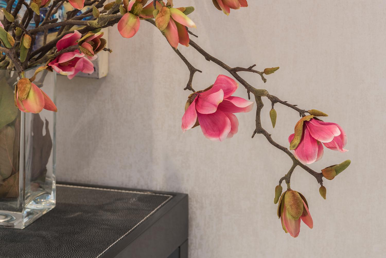 Artificial flower detail, london
