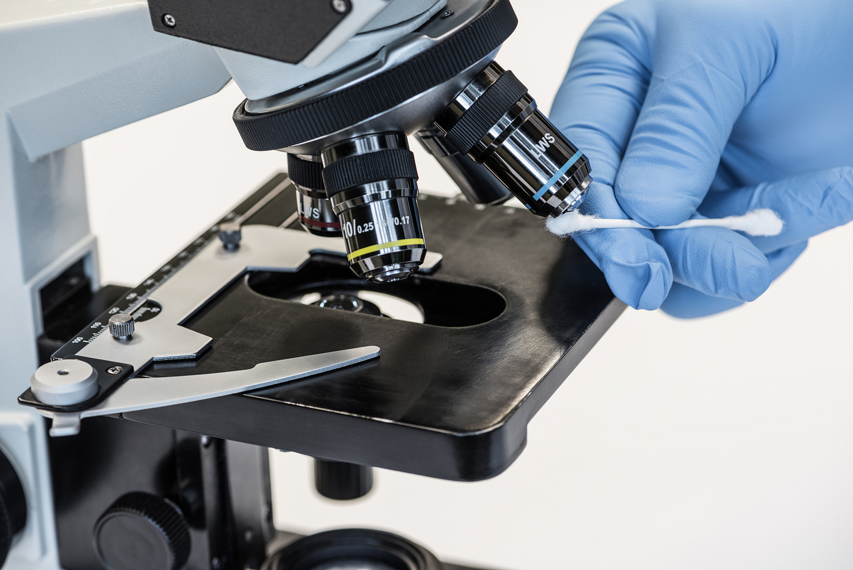 Microscope servicing detail, Washington DC