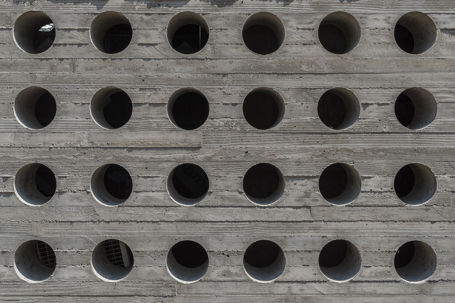 Concrete wall detail, John F. Kennedy Center for the Performing Arts, Washington DC