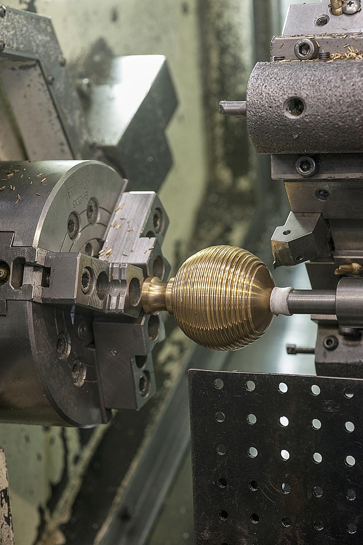 CNC machine detail, Birmingham