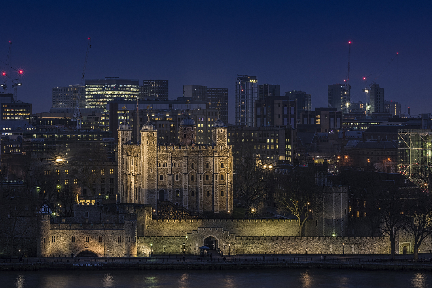 Tower of London at night, London