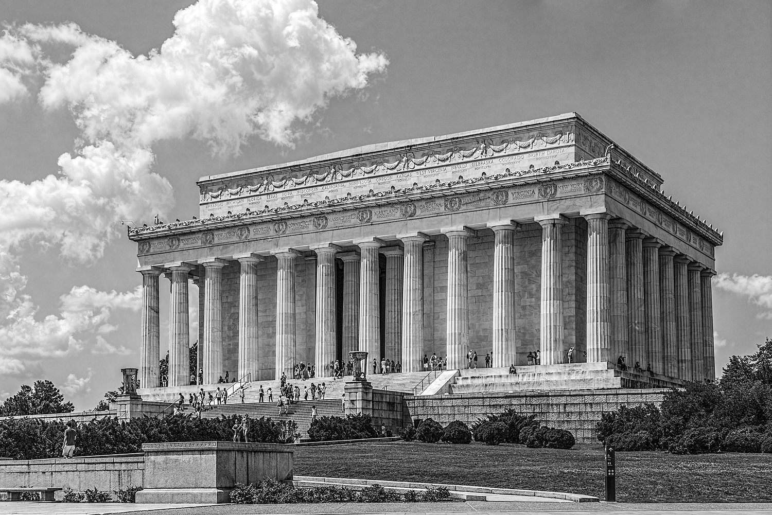 The Lincoln Memorial, Washington DC