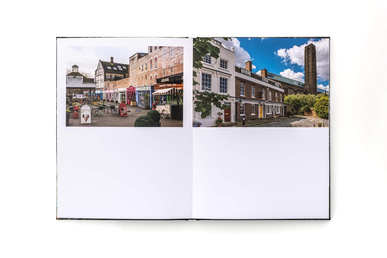 SE1 book internal spread - Gabriel's Wharf, Bankside