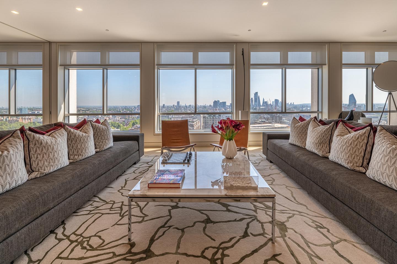 Apartment view, Centre Point, London