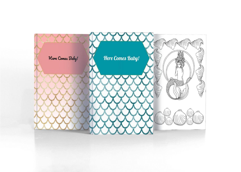 Mermaid Baby Journals