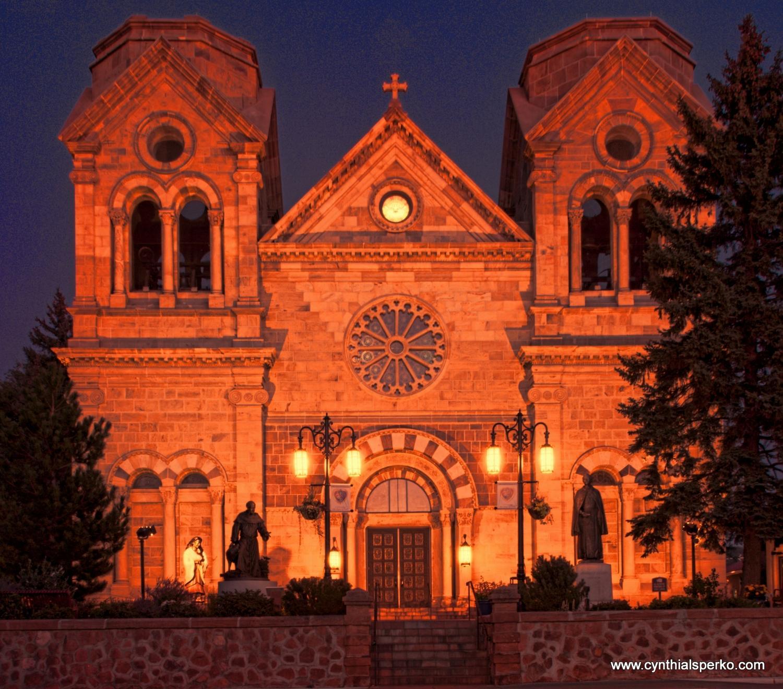 The Catholic Basilica of Saint Francis Santa Fe New Mexico
