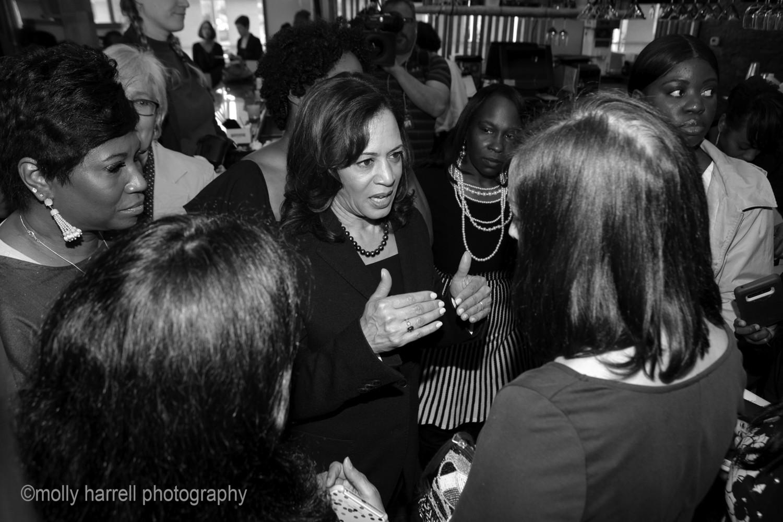Senator Kamala Harris Campaigning in Columbia, SC