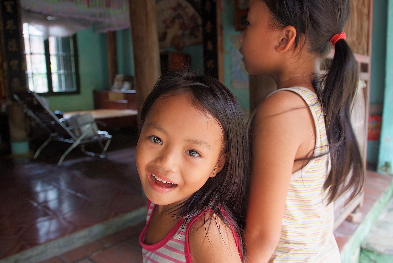 Smiling Girl in Hai Duong