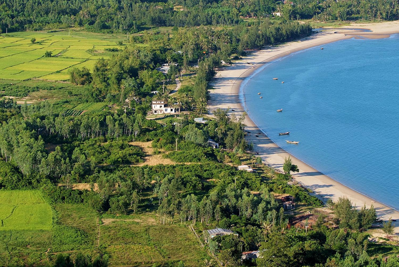 Nam Chon Bay in Da Nang, Vietnam