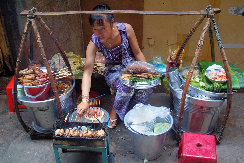 Saigon Food Hawker in Ho Chi Minh City, Vietnam