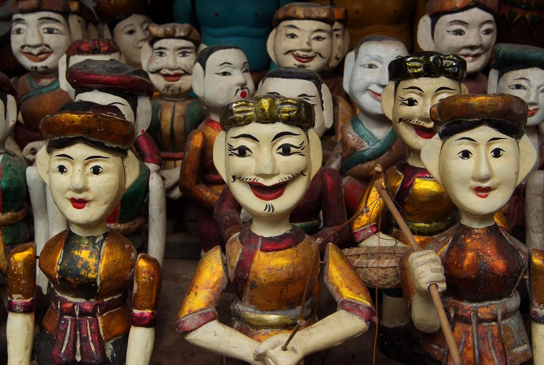 Water Puppets in Ha Noi, Vietnam